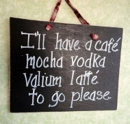 Coffee valium